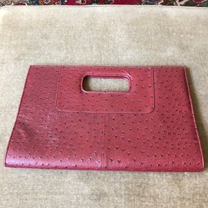 Versona accessories red faux leather handbag NWOT